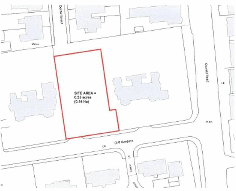 Land Commercial for sale in Residential Building Plot, Cliff Gardens, Scunthorpe