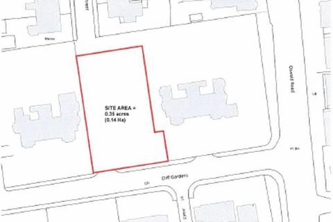 Land for sale - Residential Building Plot, Cliff Gardens, Scunthorpe