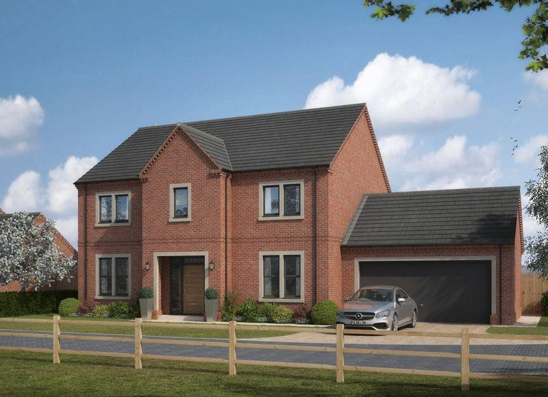 4 Bedrooms Detached House for sale in COMING SOON - The Leas, Medburn, Newcastle.