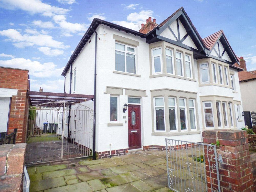 3 Bedrooms Semi Detached House for sale in Gosforth Road, Bispham, Blackpool