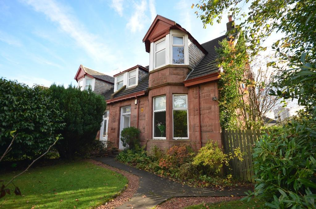 3 Bedrooms Semi Detached House for sale in Kenilworth Avenue, Shawlands, Glasgow, G41 3SD
