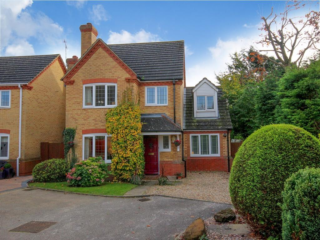 4 Bedrooms Detached House for sale in Laurel Close, Stanbridge, LU7