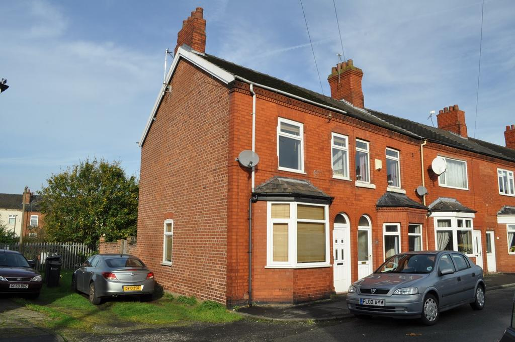 2 Bedrooms End Of Terrace House for sale in Alan Street, Northwich, CW9