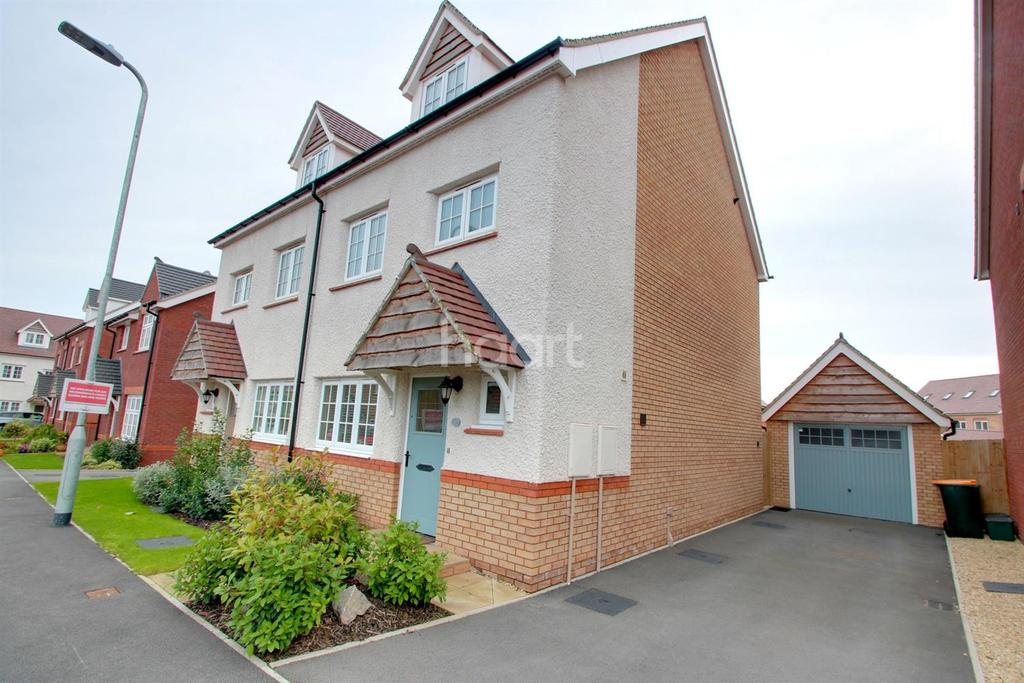 4 Bedrooms Semi Detached House for sale in Excalibur Drive, Mon Bank, Newport, NP20