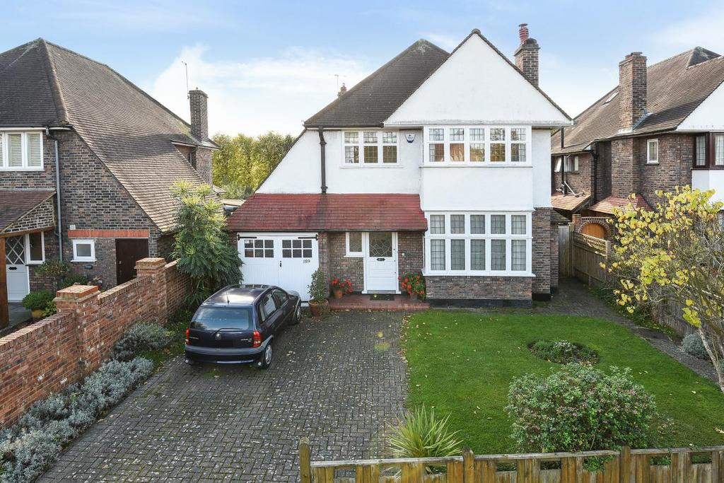 4 Bedrooms Detached House for sale in Coombe Lane, West Wimbledon