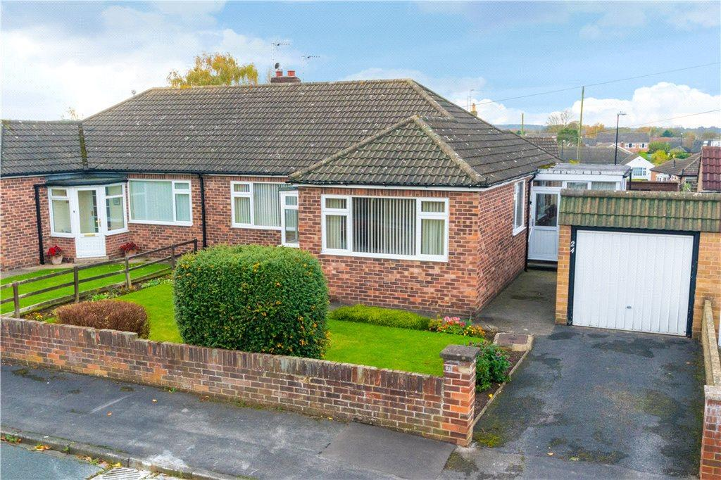 3 Bedrooms Semi Detached Bungalow for sale in Grange Park Road, Ripon, North Yorkshire