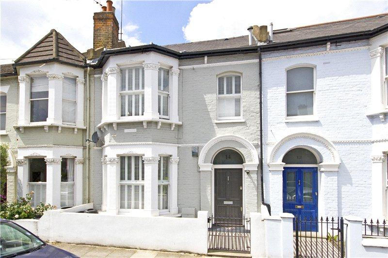 4 Bedrooms Terraced House for sale in Lavender Sweep, Battersea, London