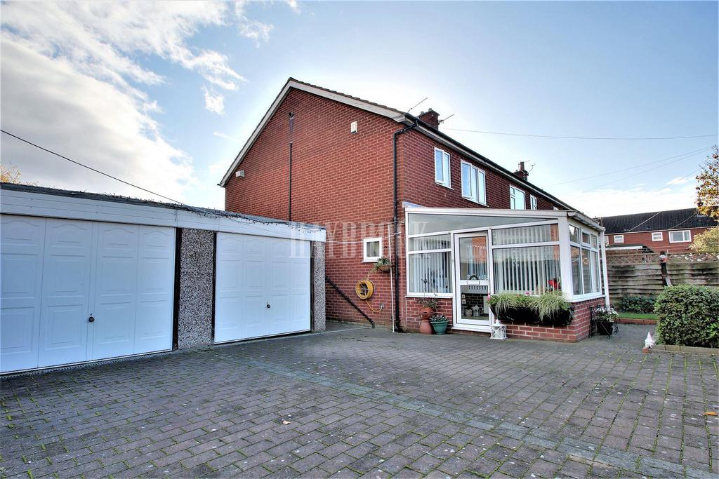 3 Bedrooms Semi Detached House for sale in Cover Close, Harley