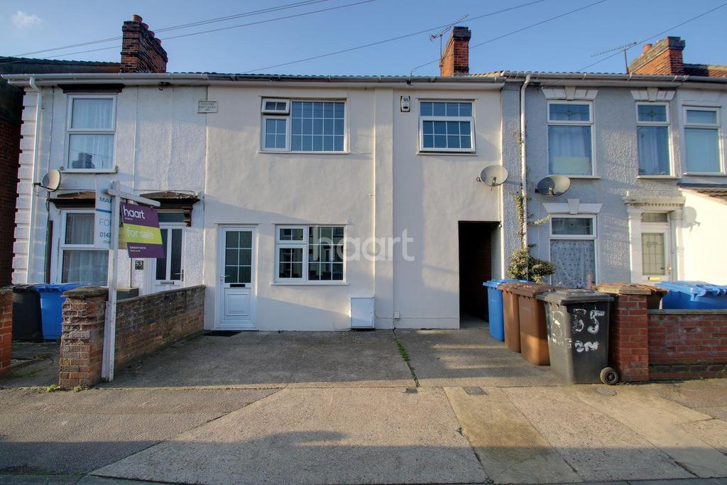4 Bedrooms Terraced House for sale in Hampton Road, Ipswich