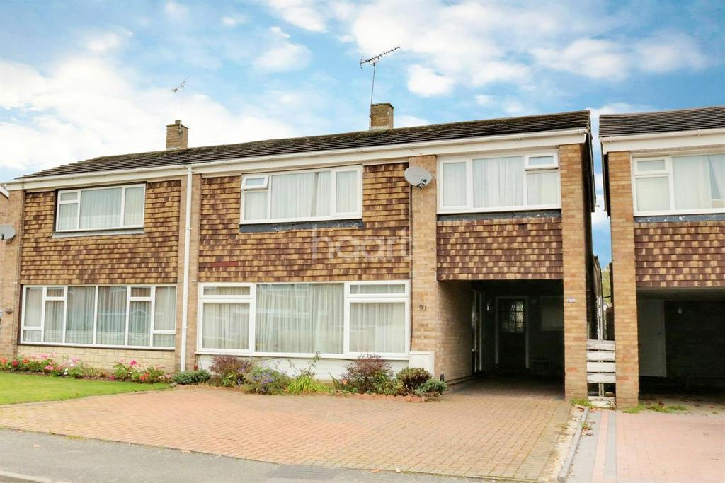3 Bedrooms Semi Detached House for sale in Alderbury Road