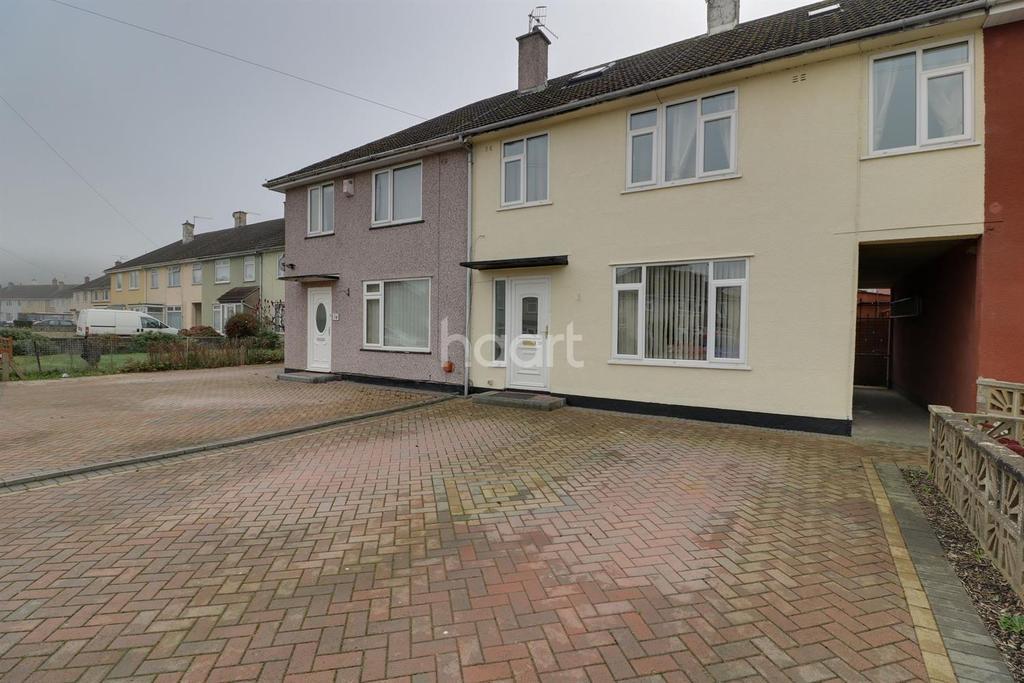 4 Bedrooms Terraced House for sale in Aylminton Walk, BS11