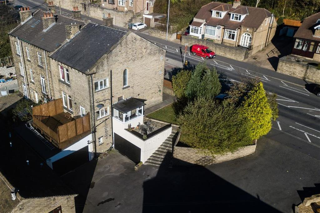 5 Bedrooms End Of Terrace House for sale in New Hey Road, Salendine Nook, Huddersfield, HD3