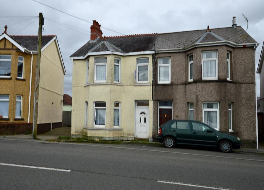 3 Bedrooms Semi Detached House for sale in Llandybie Road, Ammanford