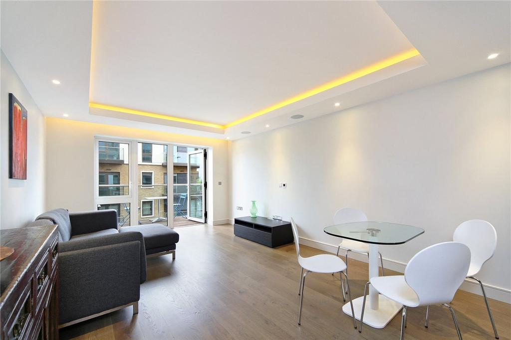 2 Bedrooms Flat for sale in Brunswick House, Parr's Way, Fulham Reach, London, W6