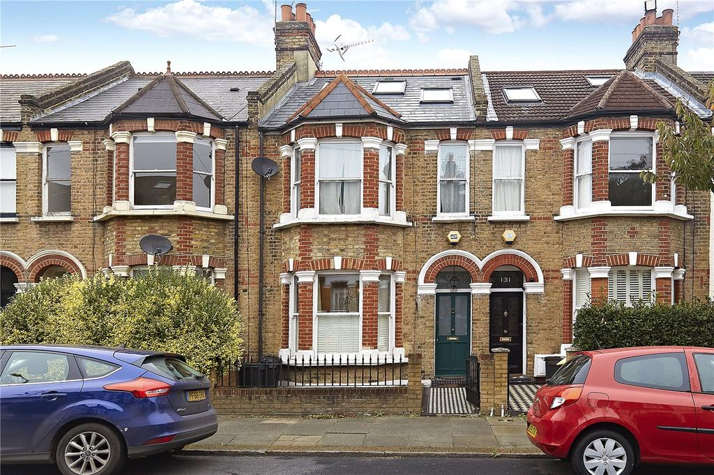4 Bedrooms Terraced House for sale in Fawe Park Road, London, SW15