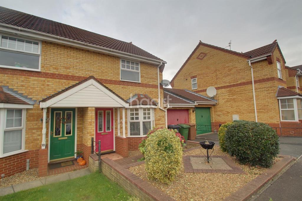 2 Bedrooms Semi Detached House for sale in Fairchild Way, Dogsthorpe. Peterborough