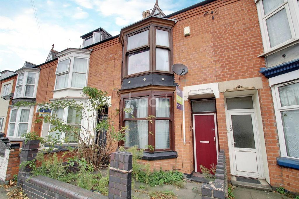 4 Bedrooms Terraced House for sale in Upperton Road, Leicester