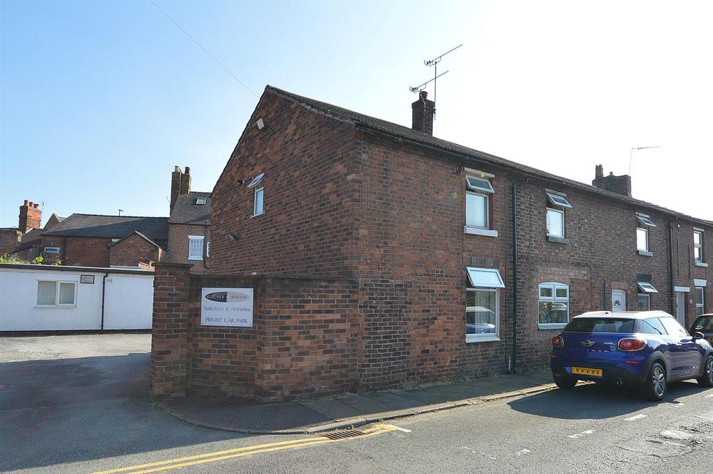 2 Bedrooms End Of Terrace House for sale in Chapel Street, Sandbach
