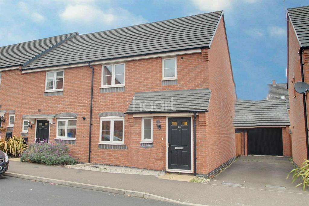 3 Bedrooms Semi Detached House for sale in Harlow Fields, Derby