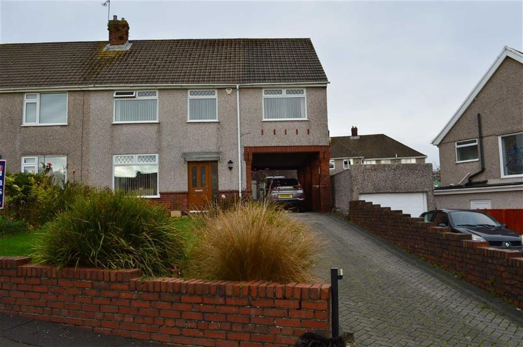 5 Bedrooms Semi Detached House for sale in Gabalfa Road, Swansea, SA2