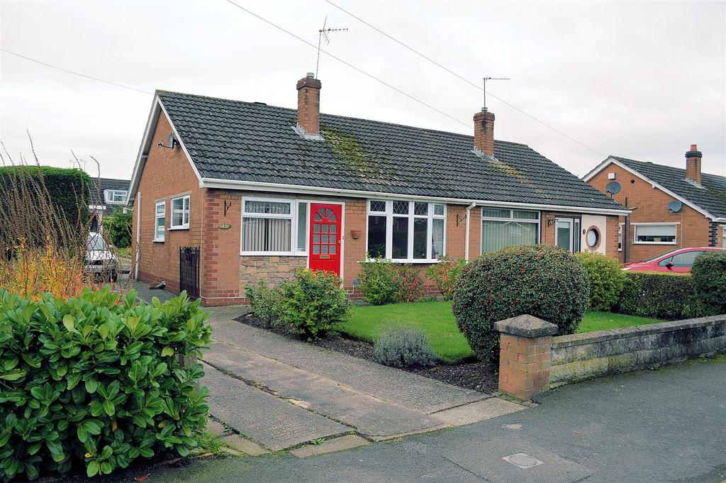 2 Bedrooms Semi Detached Bungalow for sale in Cookesmere Lane, Sandbach