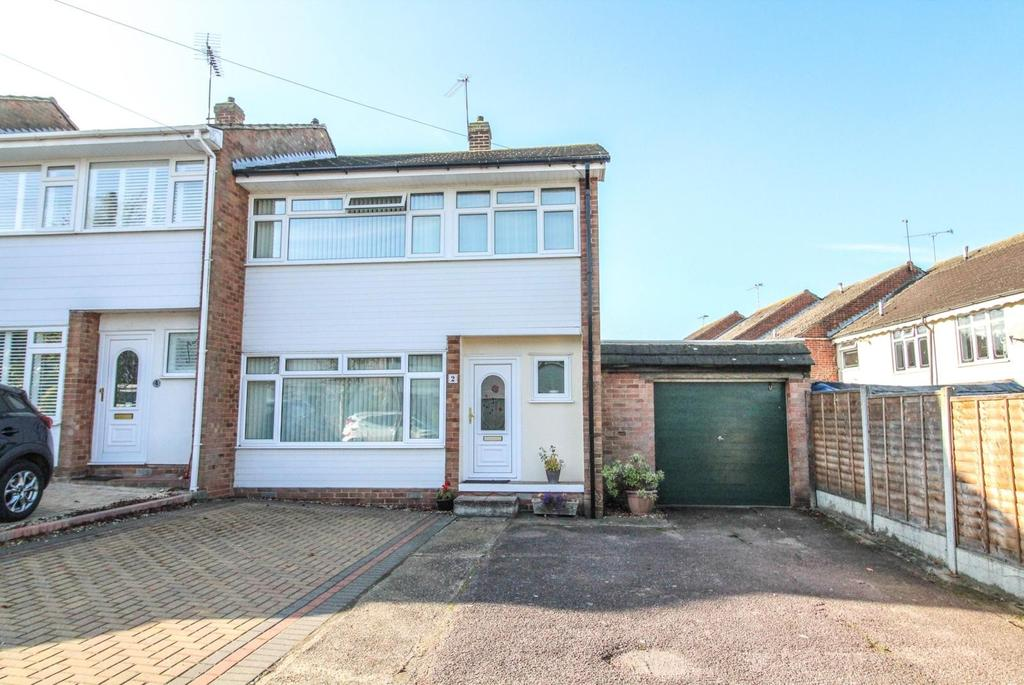 3 Bedrooms End Of Terrace House for sale in Tern Way, Brentwood, CM14 5NY