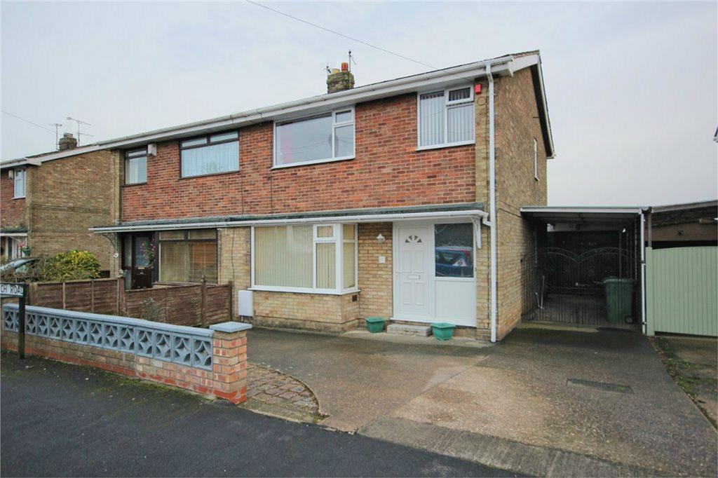 3 Bedrooms Semi Detached House for sale in Church Road, Wawne, Hull, East Riding of Yorkshire