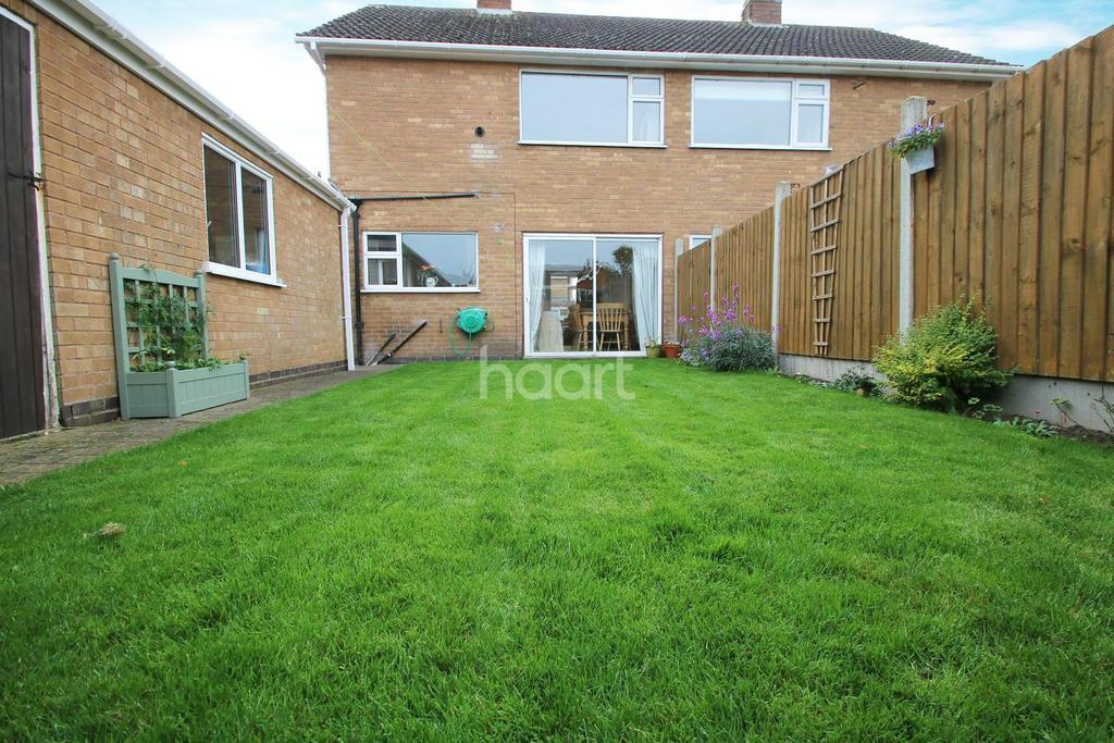 3 Bedrooms Semi Detached House for sale in Lichfield Drive, Blaby, Leicester