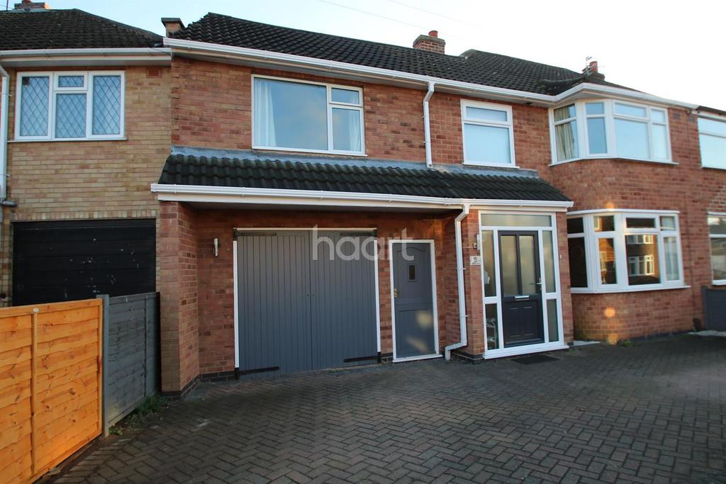 4 Bedrooms Semi Detached House for sale in Ingleby Road, Wigston, Liecester
