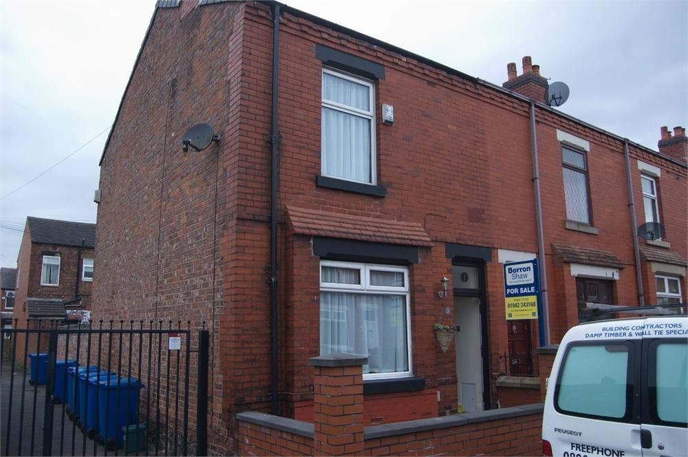 1 Bedroom End Of Terrace House for sale in Kimberley Street, WIGAN, Lancashire