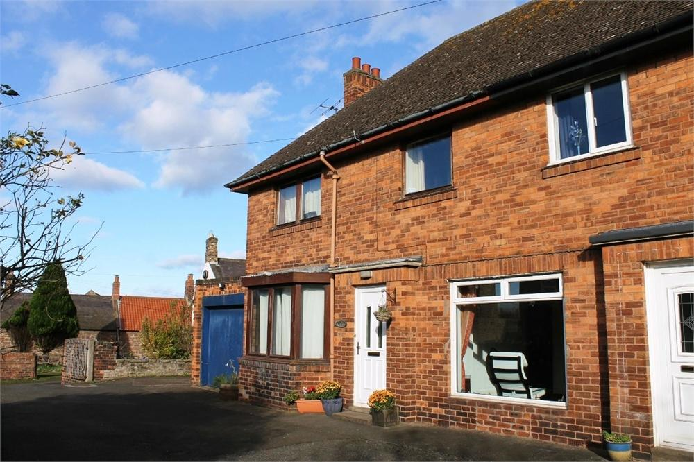 3 Bedrooms Semi Detached House for sale in 81a Main Street, Tweedmouth, Berwick Upon Tweed, Northumberland