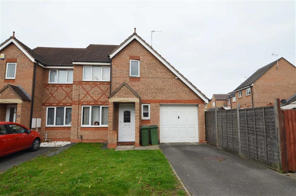 3 Bedrooms Semi Detached House for sale in Darien Way, Thorpe Astley