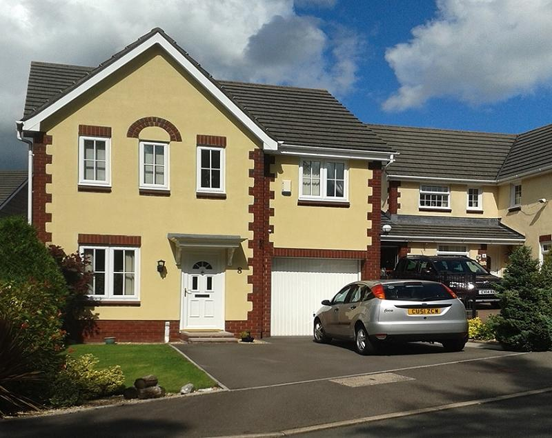 4 Bedrooms Detached House for sale in Llyn Tircoed , Tircoed Forest Village, Penllergaer, Swansea, City And County of Swansea.