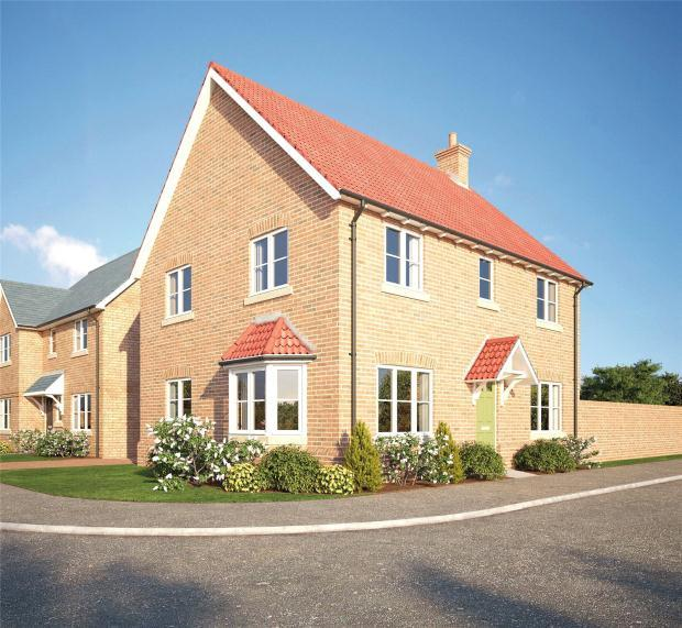 4 Bedrooms Detached House for sale in SAPPHIRE GARDENS, Worlington Road, Mildenhall, Bury St Edmunds
