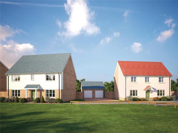 4 Bedrooms Detached House for sale in SAPPHIRE GARDENS, Worlington Road, Mildenhall, Bury St Edmunds