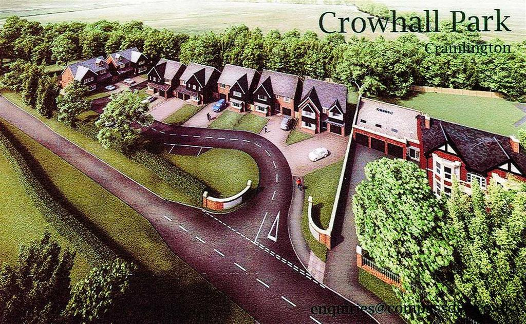 4 Bedrooms Detached House for sale in Crowhall Park, Cramlington