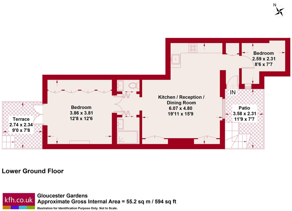Gloucester Gardens Bayswater W2 2 Bed Apartment To Rent