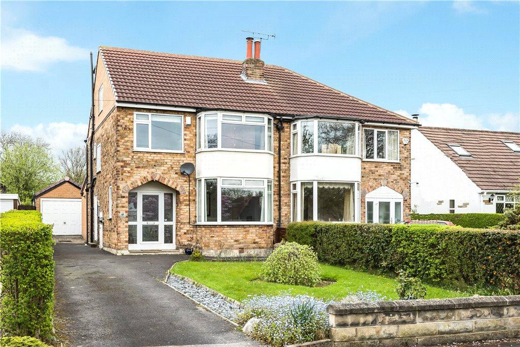 4 Bedrooms Semi Detached House for sale in Broomfield, Leeds, West Yorkshire