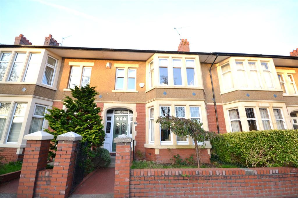 4 Bedrooms Terraced House for sale in Melrose Avenue, Penylan, Cardiff, CF23