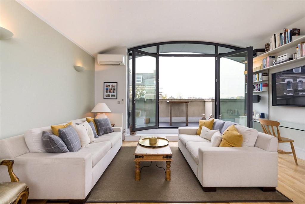 2 Bedrooms Penthouse Flat for sale in Salcott Road, London, SW11