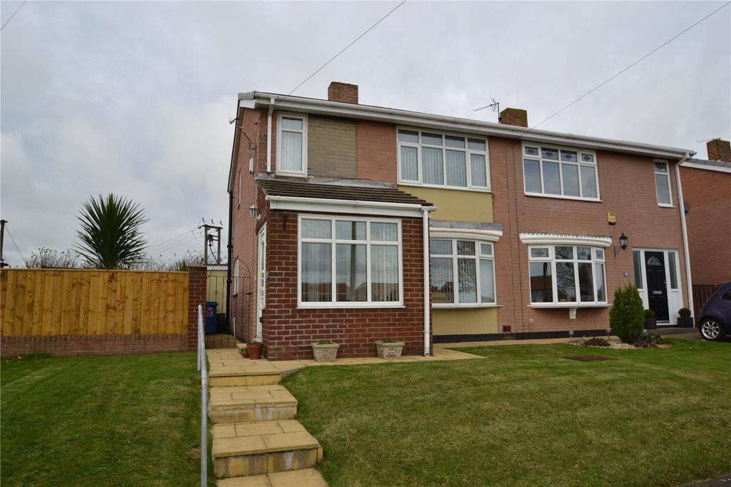 2 Bedrooms Semi Detached House for sale in Gore Hill Estate, Thornley, Co.Durham, DH6