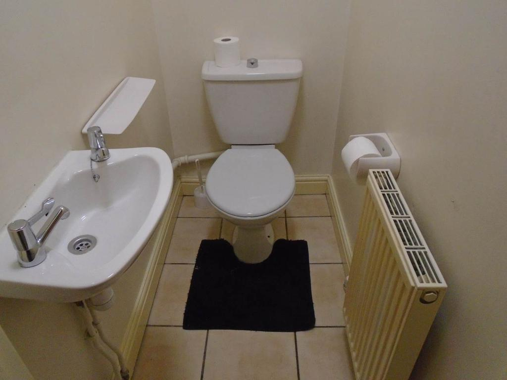 Toilet upstairs