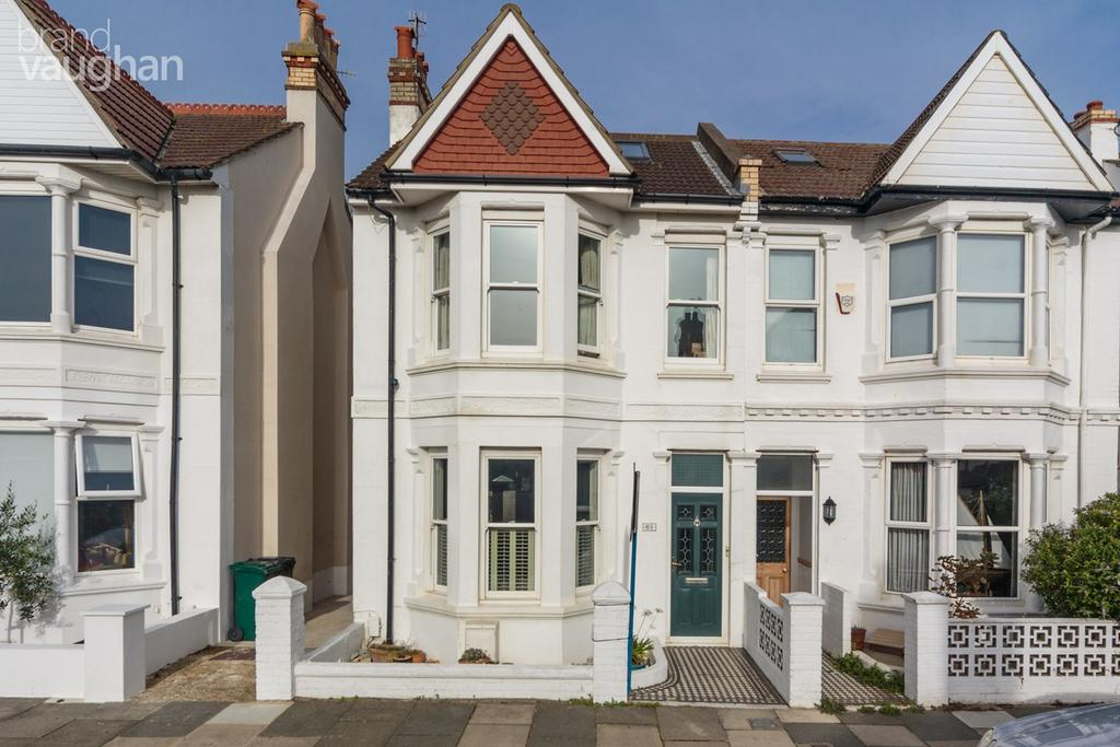 4 Bedrooms End Of Terrace House for sale in Marine Avenue, Hove, BN3