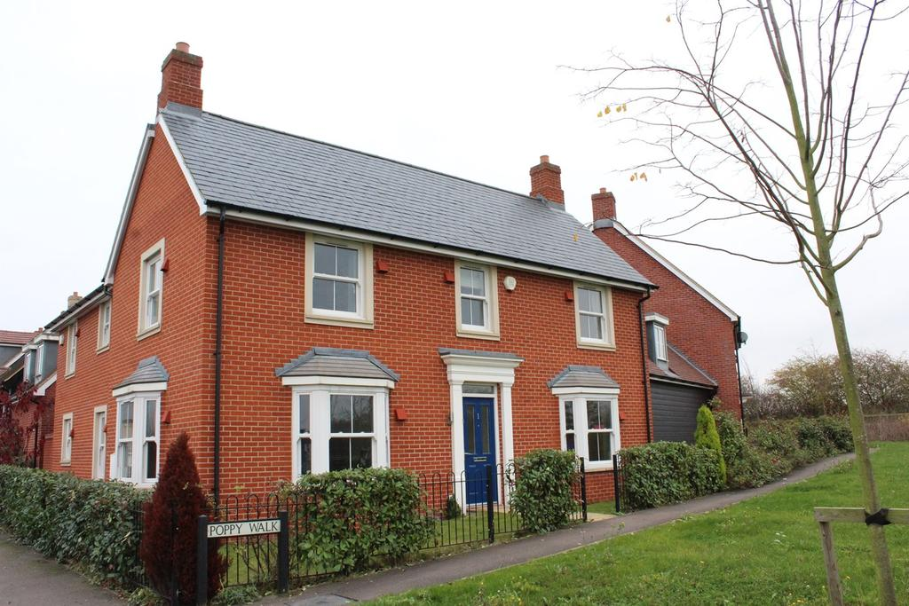 4 Bedrooms Link Detached House for sale in Poppy Walk, Stotfold, Hitchin, SG5
