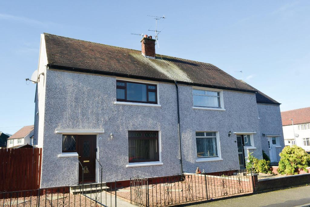 3 Bedrooms Semi Detached House for sale in Wallace Street, Bannockburn, Stirling, FK7 8JH