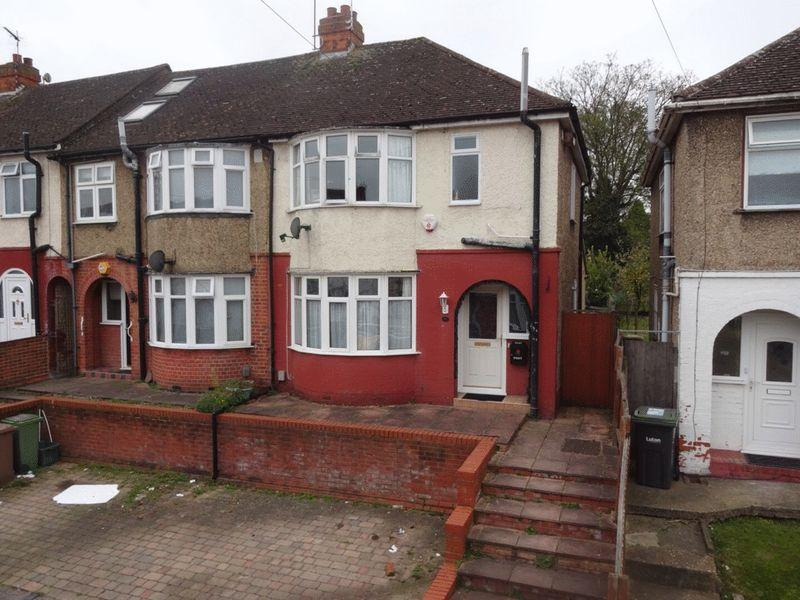 3 Bedrooms End Of Terrace House for sale in Shelley Road, Luton