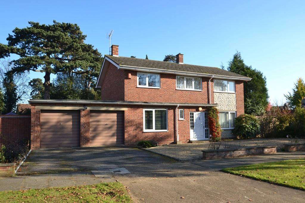 4 Bedrooms Detached House for sale in East Lawn, Ipswich, IP4 3LH