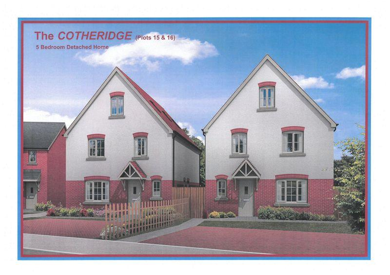 5 Bedrooms Detached House for sale in Plot 16 - England 's Field, Bodenham Hereford