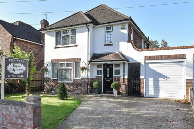 3 Bedrooms Link Detached House for sale in Queens Drive, Bedford