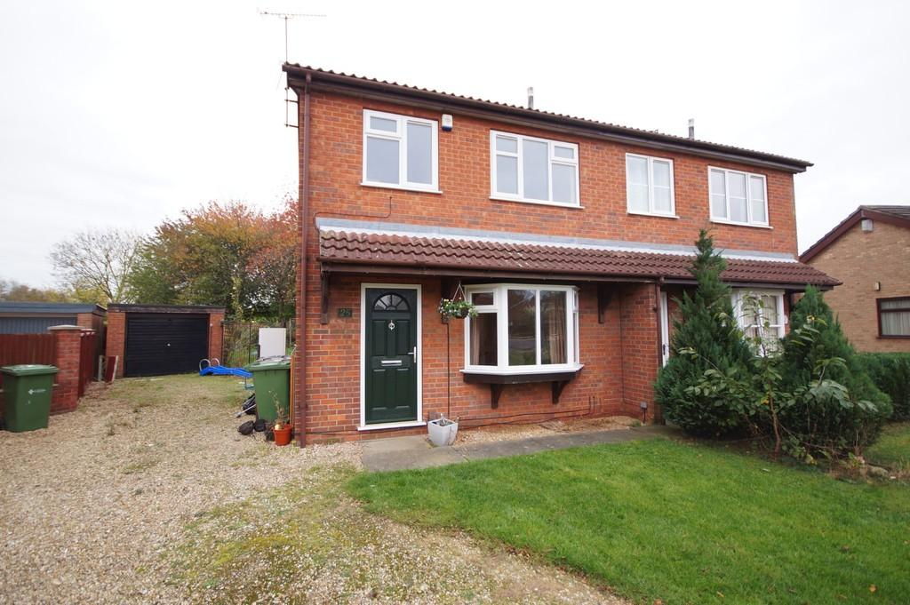 3 Bedrooms Semi Detached House for sale in Woodrush Road, Lincoln